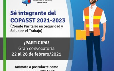 Sé integrante del COPASST 2021-2023
