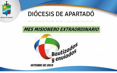 Mes misionero extraordinario