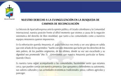 Nuestro derecho a la evangelización
