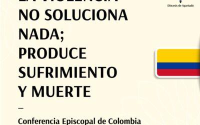 Comunicado sobre Paro Nacional Conferencia Episcopal de Colombia