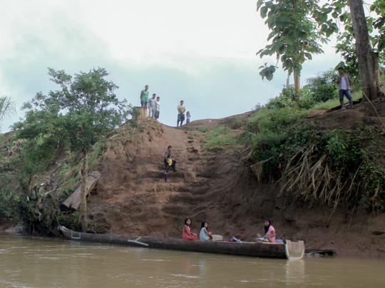 Misión humanitaria cuenca del Truando